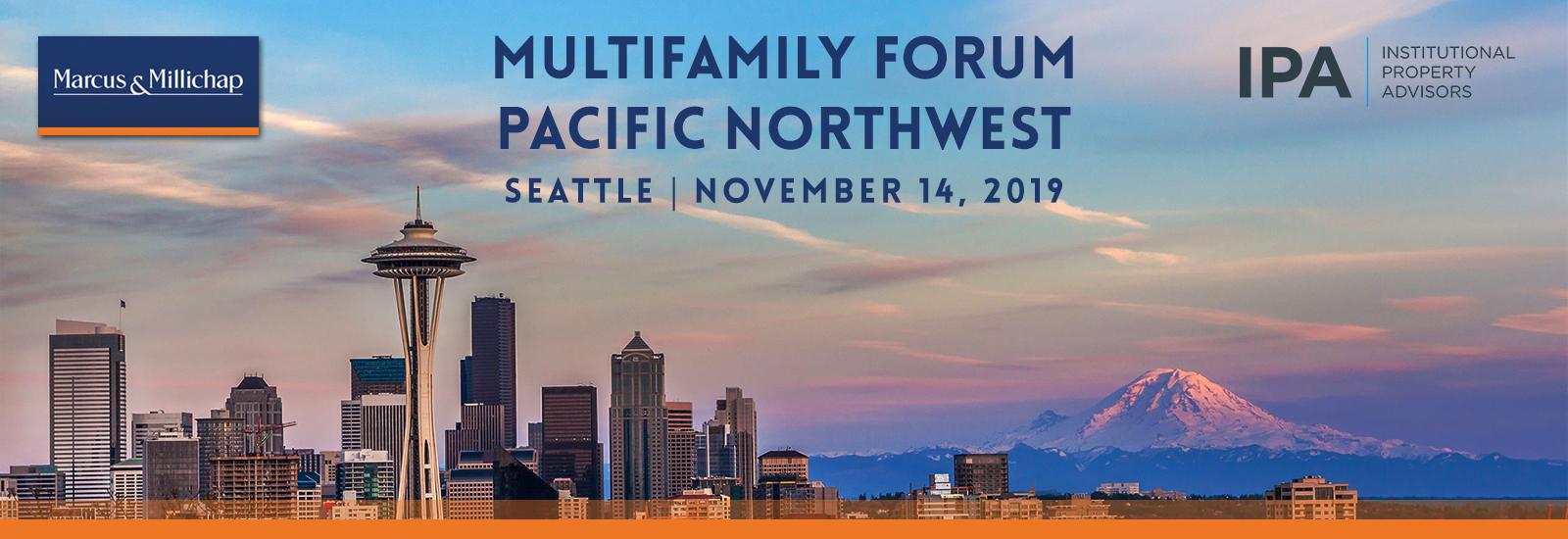 Pacific Northwest Multifamily Forum | Multifamily Forum